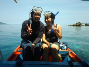 with mbak fani