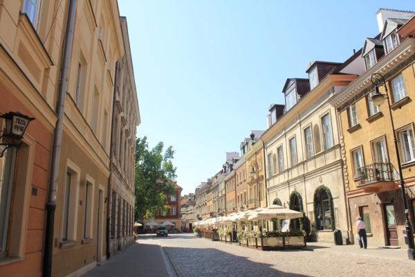 Menyusuri Warsaw Old Town