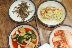 side dishes, kimchi n the gang