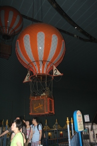 balon udara di lotte world