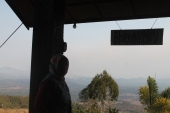 Batutumonga view from this cafe