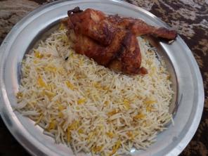 ayam panggang arab