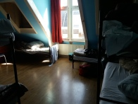 our bedroom in hotel Leidsplein