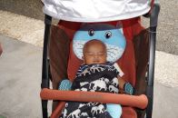 Baby Ghazi tidur terus