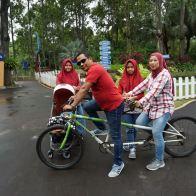 Bersepeda di Ecopark
