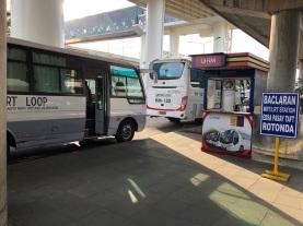 bus dari bandara menuju kota