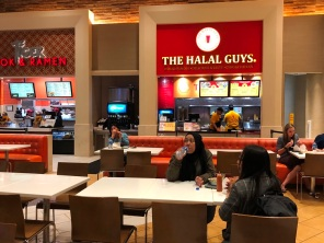 The Halal Guys at Food Court Caesars Palace